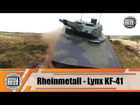 Hungary and Rheinmetall Defense from Germany sign agreement to produce Lynx tracked armored IFV
