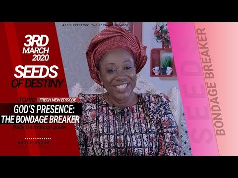 Dr Becky Paul-Enenche - SEEDS OF DESTINY - TUESDAY, 03 MARCH, 2020