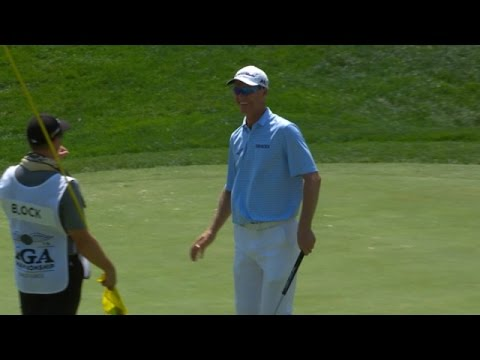 Senden?s putt hangs on lip for 20+ seconds, drops in at PGA Championship