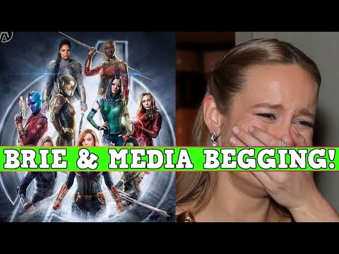 Brie Larson BEGS For All Female Avengers! Media Shills Too!