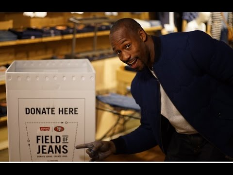 49ers' Vernon Davis Wants You to Donate to the Field of Jeans Nov. 2