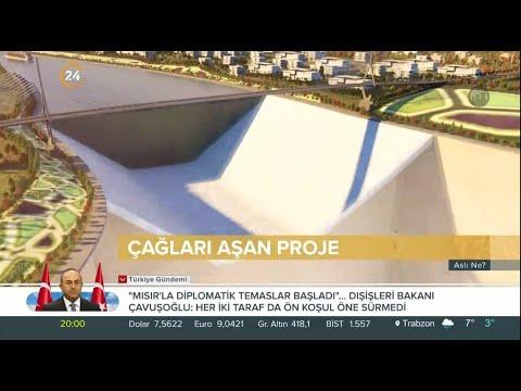 Aslı Ne? / Çağları Aşan Proje – Kanal İstanbul – 12 03 2021