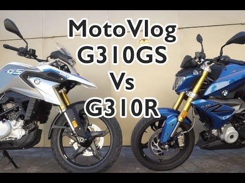 Motosx1000: MotoVlog BMW G310R Vs. G310GS