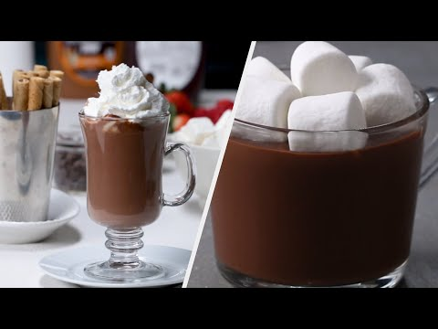 Gourmet Hot Chocolate Recipes To Warm You Up ? Tasty