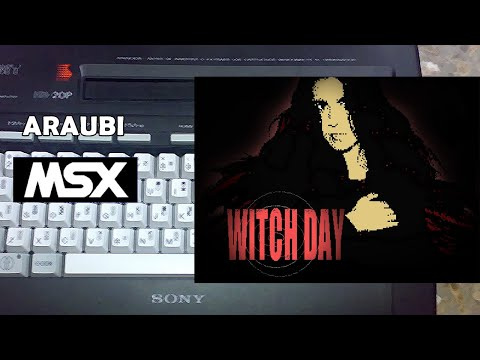 Día de Brujas (Joesg, 2020) MSX [753] Walkthrough Comentado