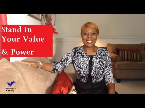 Raise Your Standard: Stand in Your True Value & Power