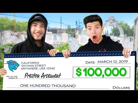 I Won $100,000 From MrBeast! (YouTuber Battle Royale)