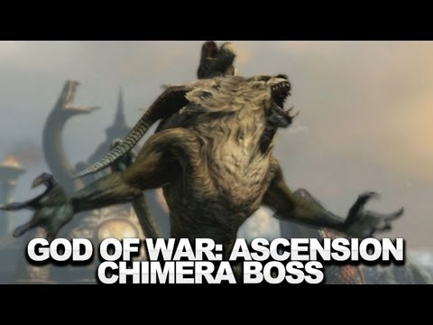 God of War: Ascension Walkthrough (Boss 3) - The Chimera - UCKy1dAqELo0zrOtPkf0eTMw