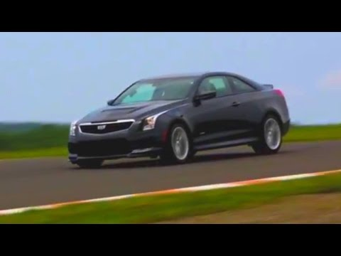 The Cadillac ATS-V On Track WIth The 'Zig -- AFTER/DRIVE