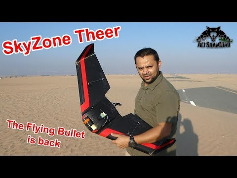 SkyZone Theer 110 MPH FPV Racing Wing The Flying Bullet is Back - UCsFctXdFnbeoKpLefdEloEQ