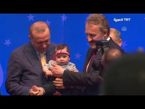 أردوغان يخاطب الجالية التركية في أوروبا من العاصمة البوسنية سراييفو