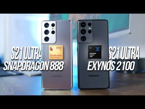 SNAPDRAGON 888 vs EXYNOS 2100: l'or …