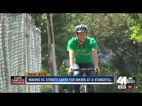 Bikers frustrated by delay in bike lane projects