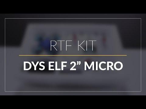 "DYS Elf 2"" Micro Brushless Quad // RTF Micro Quad // GetFPV.com - UCEJ2RSz-buW41OrH4MhmXMQ"