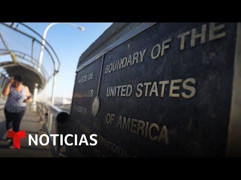 ¿Cuándo se abrirán las puertas internacionales de EE.UU.?   Noticias Telemundo
