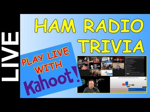 Ham Radio Trivia Live - Oct 15th 7PM CDT - Come Play!