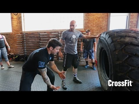 Hips and Dig - CrossFit Specialty Course: Strongman