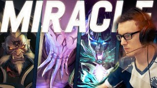 The Man, The Myth, The Legend - Miracle Dota 2 Gameplay Compilation