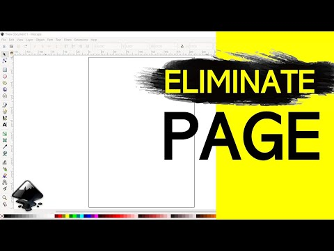 INKSCAPE – How to Eliminate the Page