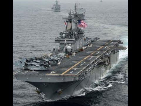 Breaking USS Boxer Shoots Down Iranian Drone In Persian Gulf