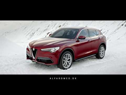 Alfa Romeo Stelvio.  Danmarkspremiere 23. april