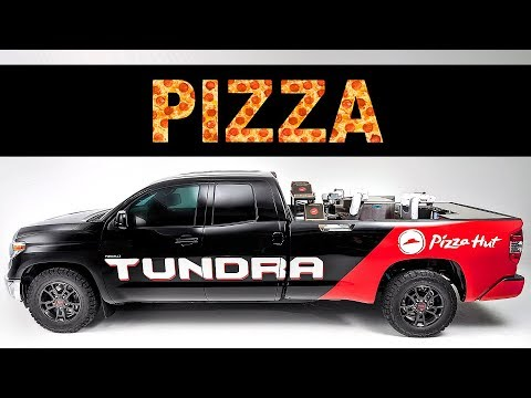 PIZZA-MAKER PICKUP TRUCK ? Toyota Tundra Pie Pro