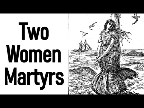 Two Women Martyrs - A. B. Todd