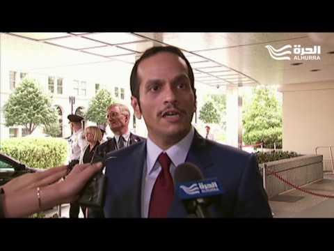 """في تصريح لـ""""الحرة""""... آل ثاني يطالب بـ""""أدلة قبل الحديث عن مطالب من قطر"""