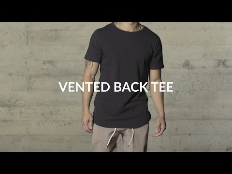 Aesthetic Revolution | Vented Back Tee