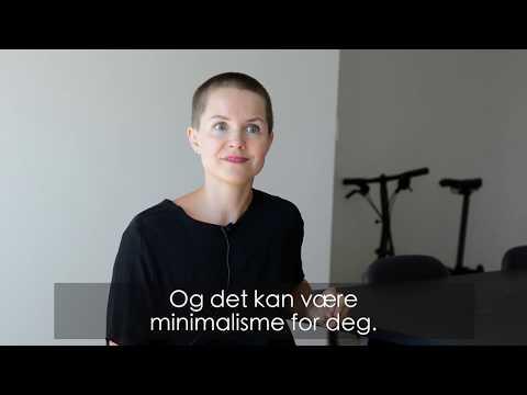 Carina Poulsen: Minimalisme handler ikke om å ha få ting. «Tenk enkelt».