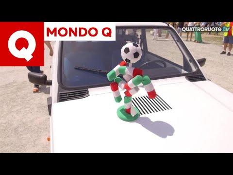 La Fiat Panda Waze a Pandino insieme ad altre 365 Panda!
