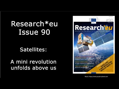 Research*eu issue 90: Satellites: A mini revolution unfolds above us photo