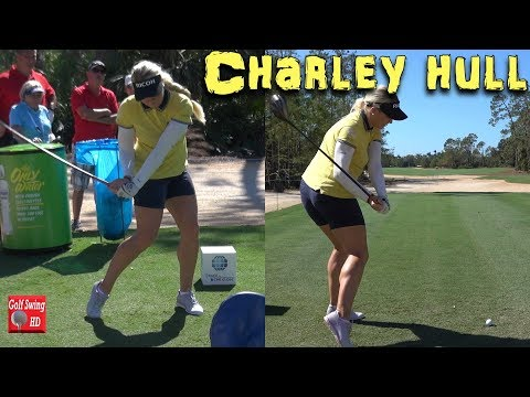CHARLEY HULL DUAL ANGLE SLOW MOTION GOLF SWING 1080 HD