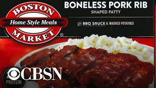 Boston Market frozen meals recalled, and more MoneyWatch headlines