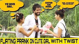 Flirting Prank On Cute Girls With Twist | Ft.Mehak | Yash Choudhary