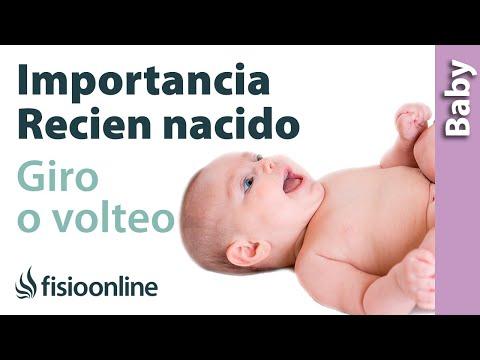 Importancia del volteo del recién nacido
