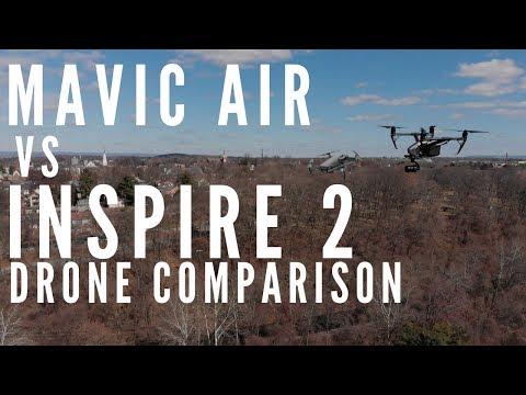 Mavic Air vs Inspire 2 Comparison - $6,000 drone vs $800 drone - UCKUHwx9Nz4cK5APGl6g8JWQ