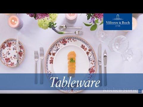 Eine Festtafel richtig decken – Das Porzellan | Villeroy & Boch