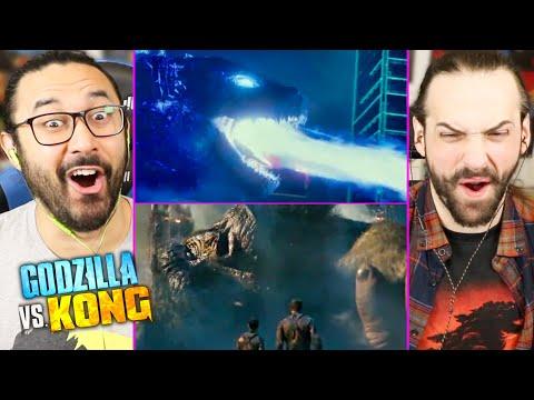 GODZILLA VS KONG   Trailer #2 (NEW TRAILER) REACTION!! (Breakdown   Theories   Monsterverse)