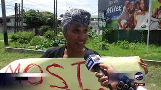 CRAFT PRODUCERS PROTEST OUTSIDE CARICOM