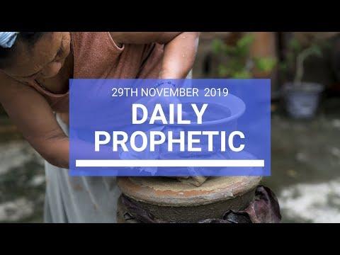 Daily Prophetic 29 November Word 3