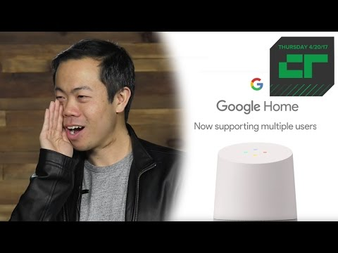 Google Home Gets Smarter About Voices | Crunch Report