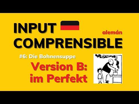 Adquirir alemán con una historieta: INPUT COMPRENSIBLE #6   versión: PERFEKT