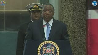 President Uhuru officiates the 2019 Census countdown