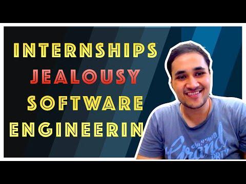 Internships, Jealousy and Software Engineering || Rachit Jain