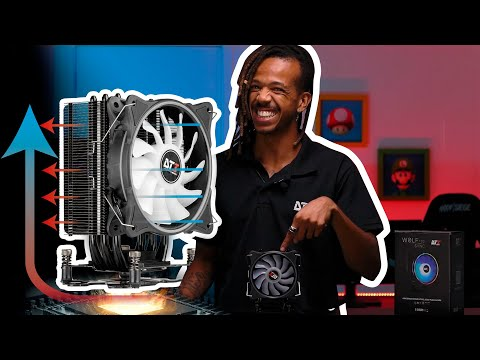 Review WOLF120   Aircooler Linha Hardware DT3sports
