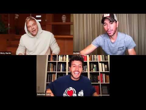 Enrique Iglesias x Ricky Martin x Sebastian Yatra – Live Chat