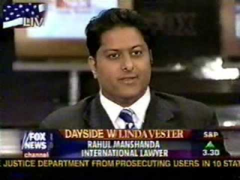 Rahul Manchanda on FOX News (Natalee Holloway Case) - 2