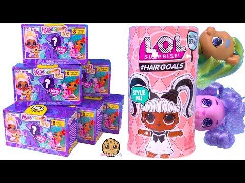Hairdorables PETS Surprise Blind Bags + Hair Goals LOL Surprise ! Cookie Swirl C Video - UCelMeixAOTs2OQAAi9wU8-g