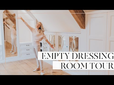 EMPTY DRESSING ROOM REVEAL // Fashion Mumblr Vlog